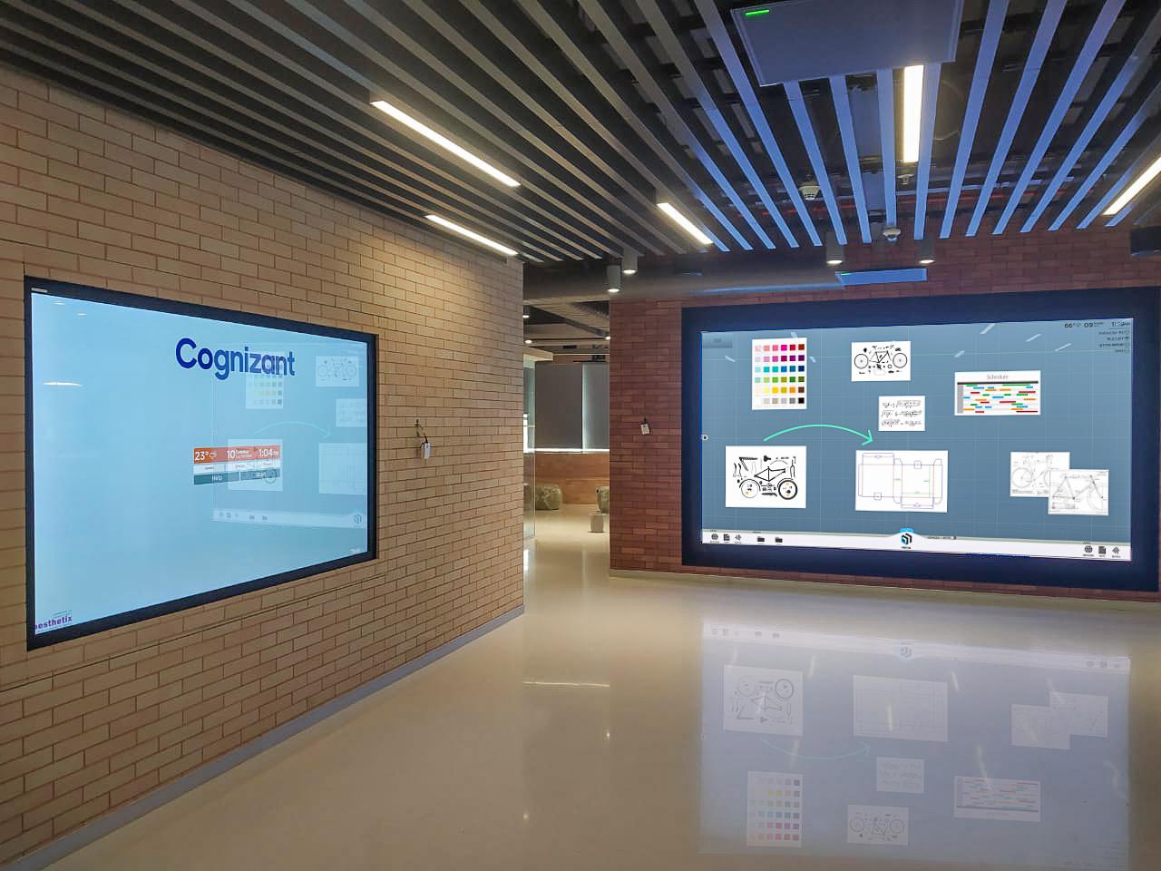 T1V-ThinkHub-BYOD-Collaboration-Cognizant-Pune-India-LED-Video-Walls-98%20-Single-Panels-MultiSite-September-2019